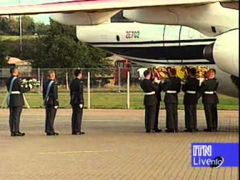 ITV News Special- Princess Diana's Body Returns To Britain