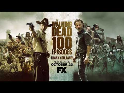 The Walking Dead 100th episode thank you