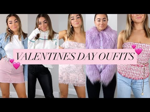 VALENTINES DAY OUTFIT IDEAS! . http://bit.ly/2GPkyb3
