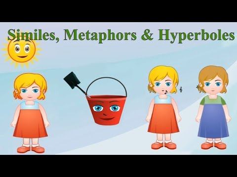 Similes, Metaphors & Hyperboles: Differences, Examples & Practice for Kids