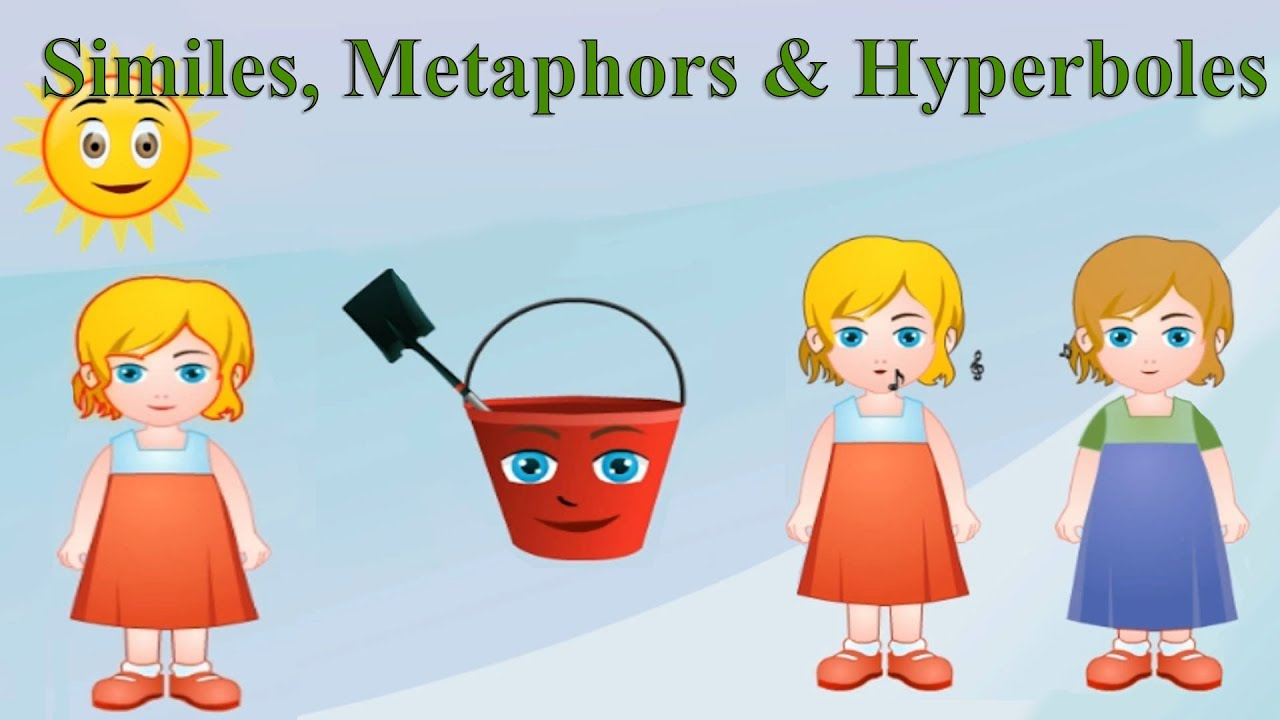 Similes Metaphors Hyperboles Differences Examples Practice