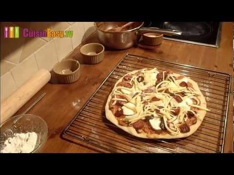 recette-d'une-pizza-maison-facile-au-chorizo-et-à-la-mozzarella