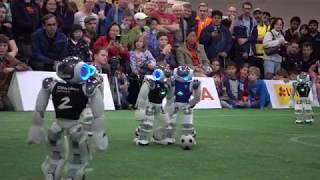 Robocup GO 2019 SPL - Final: B-Human vs. Nao-Team HTWK