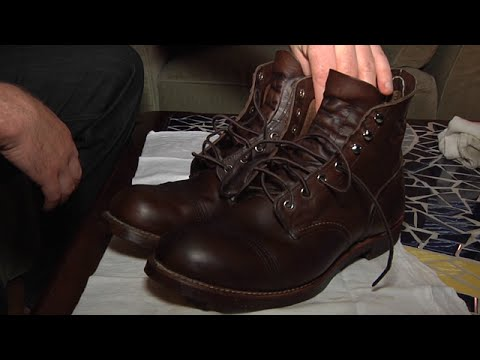 Red Wing Shoes Boot Care - Shoe Shine Autonomous Sensory Meridian Response