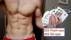 Challenge #4: Deck Of Cards Workout