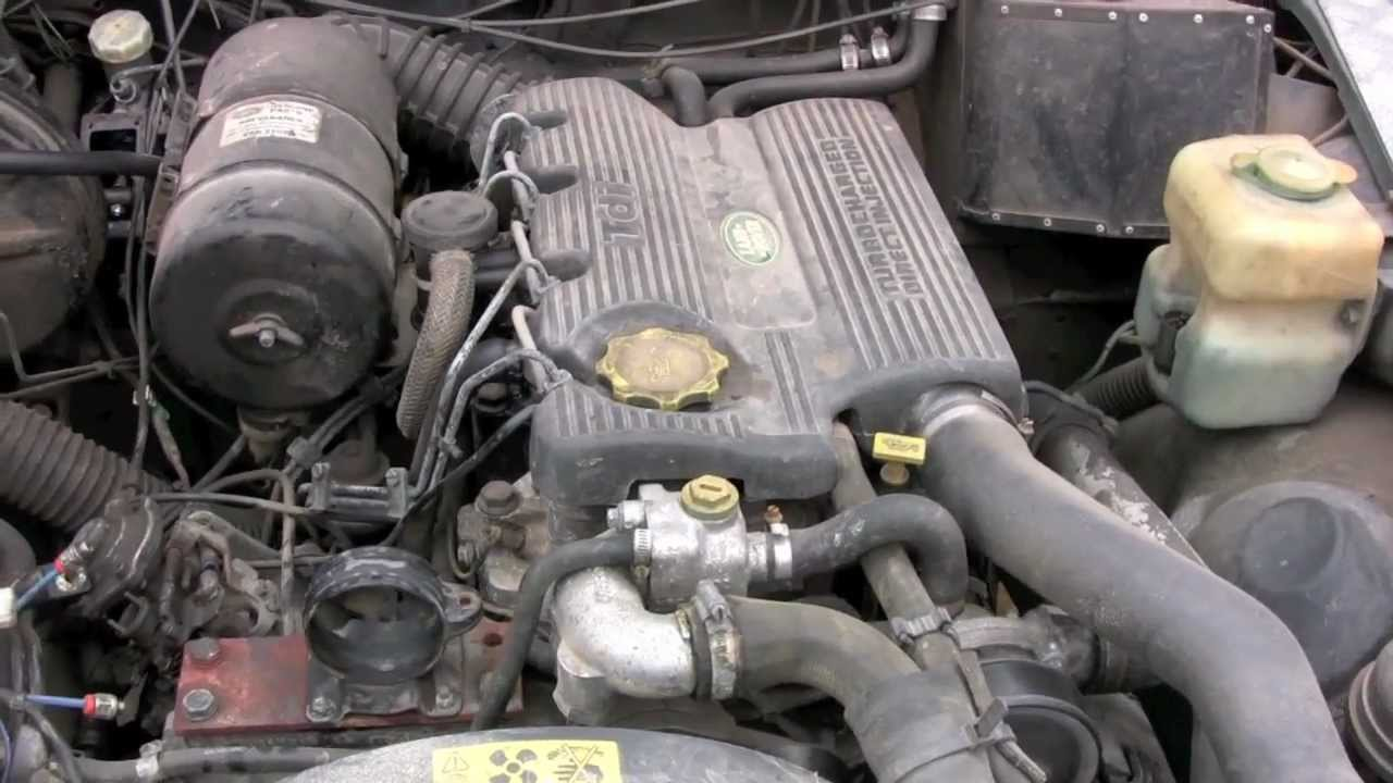 Land Rover 200 TDI engine in Series 109 versus 300 TDI