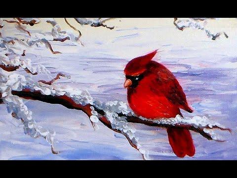 HUMMINGBIRD 3 Original 12x12 Acrylic Bird Painting by ...  |Bird Painting Acrylic