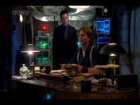 Torchwood 203 office kiss  version