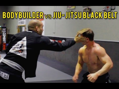 Bodybuilder vs Jiu-Jitsu Black Belt