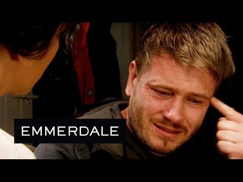 Emmerdale - David Self-Destructs and Tries to Kiss Priya