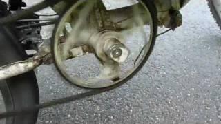 Vélo moteur - bike motorized