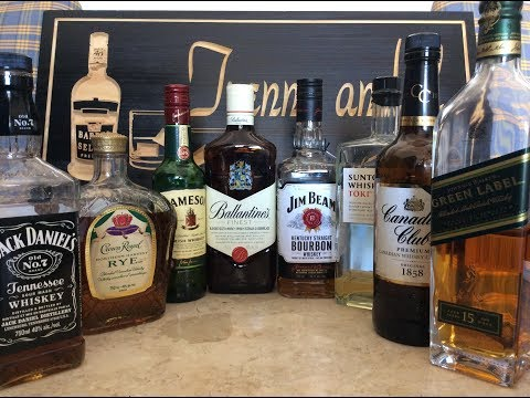 The Best Selling Whiskey Brands in the World