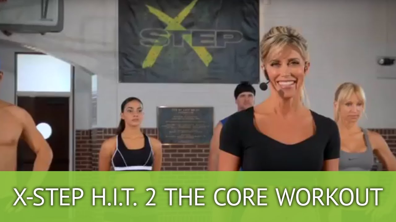 H.I.T. 2 the Core Cardio & Abs Workout using Brenda DyGraf's X-Step  WorkStation - YouTube