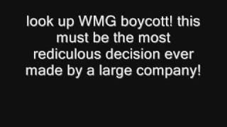 WMG copyright explanation