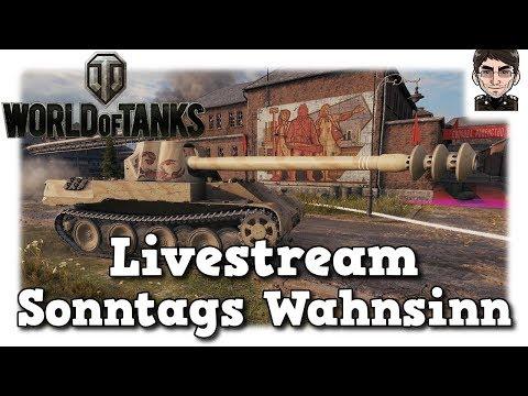 World of Tanks - Livestream Sonntags Wahnsinn thumbnail