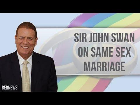 Sir John Swan on Same Sex Marriage, Feb 2017