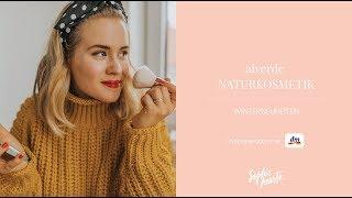alverde NATURKOSMETIK | Beauty Tutorial mit den Winterneuheiten