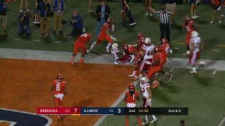 Devine Ozigbo 15-Yard Touchdown vs. Illinois