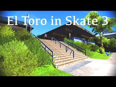 EL TORO IN SKATE 3! (Xbox w/Download)