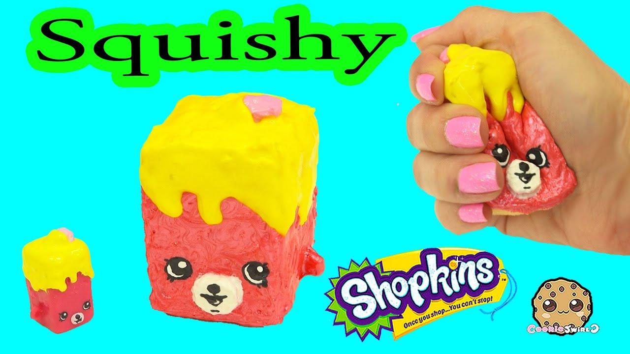 Squishy Cookieswirlc : DIY Squishy Shopkins Season 5 Petkins Inspired Craft Do It Yourself - CookieSwirlC Video - YouTube
