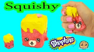 Squishy Cookie Swirl C : Diy Squishy Uk Holiday Shopkins Season 8 Easy Craft Do It Yourself Cookie Swirl C Video Mp3World