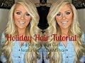 Hair Tutorial: Big Voluminous Curls featuring BELLAMI hair extensions
