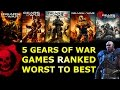 5 Gears of War Games Ranked Worst to Best