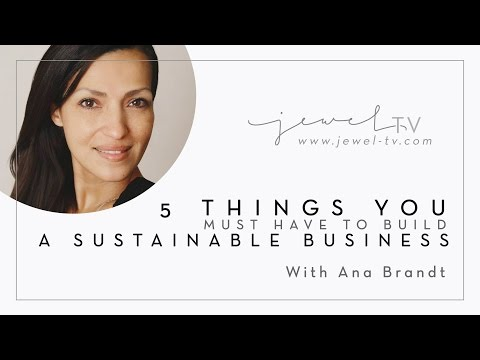 Ep 25 - 5 Things You Must Have to Build a Sustainable Business
