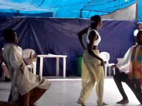 Chikni Chameli dance in Angola