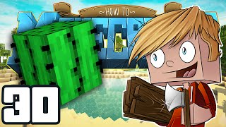 """Minecraft: HOW TO MINECRAFT! """"Cactus Hunt!"""" Episode 30 (Minecraft 1.8 SMP/Lets Play!)"""