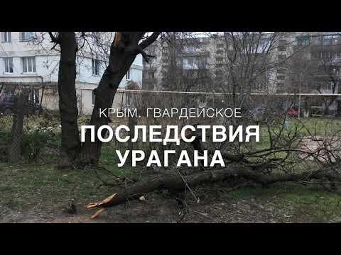 Последствия урагана в Гвардейском. Крым сегодня. Крым новости. Крым реалии.
