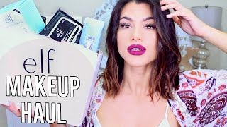 NEW E.L.F. MAKEUP HAUL!