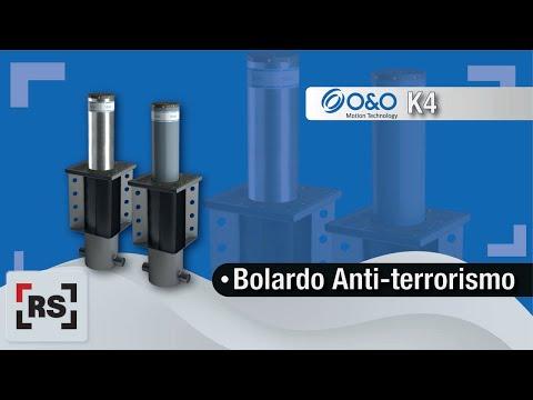 O&O Bolardo K4 Certificado Antiterrorismo   RSeguridad