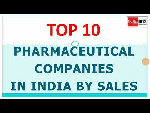 TOP 10 PHARMACEUTICAL COMPANIES IN INDIA BY SALES