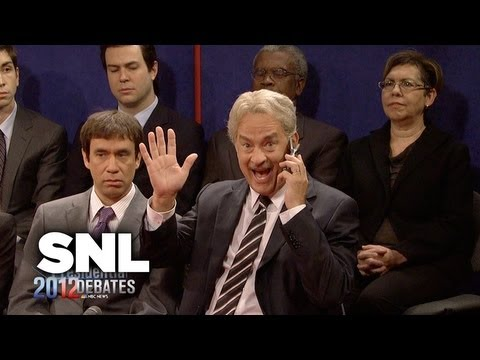 2012 Town Hall Presidential Debate - SNL