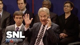 Cold Opening: Town Hall Debate - Saturday Night Live