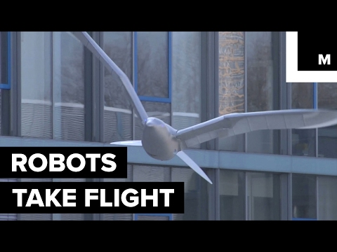 Flying robots glide with ease