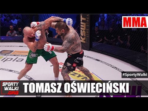 """Tomasz Oświeciński po zwycięstwie nad """"Popkiem"""". Wideo"""