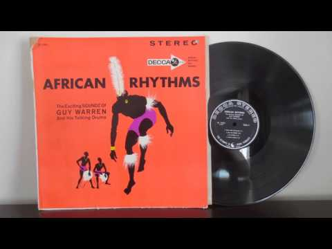 The Exciting Soundz Of Guy Warren And His Talking Drum (1962)  - African Jazz Afrobeat  - Vinyl