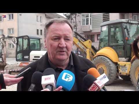 Brcko - Radovi na prosirenju Bulevara u punom jeku