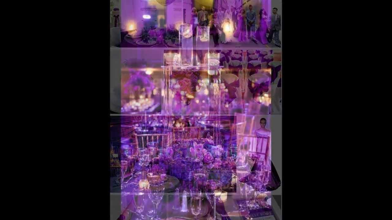 Purple Wedding Theme Decor Ideas Inspiration Discount Wedding