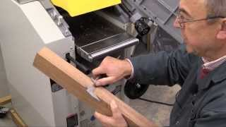 How To Setup The Axminster Aw 106 Pt2 Planer-thicknesser - Part 2