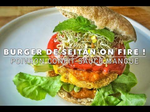 burger-de-seitan-on-fire-!-//-vegan-burger