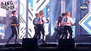 ENG 170123 BANGTAN BOMB 'As I Told You' Special stage @ MBC Korean Festival 2016