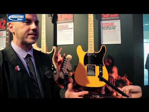 NAMM 2015 Archive - Fender 10 for 15 and new guitars