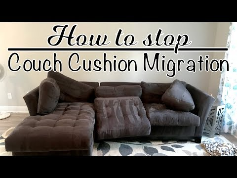 How to Stop the Couch Cushion Migration