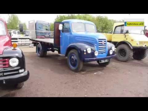 Zabytkowe ciężarówki. Vintage trucks. Old lorries. Cambridge Vintage Sale 2014