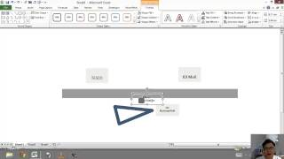Excel Basic: Draw a Location Map Using shape tools in Excel