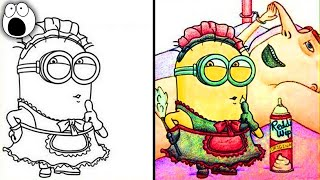 Hilarious Times Adults Did Coloring Books for Kids