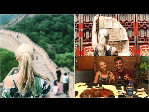 TRAVEL VLOG || BEIJING , CHINA | SARA KARAJ